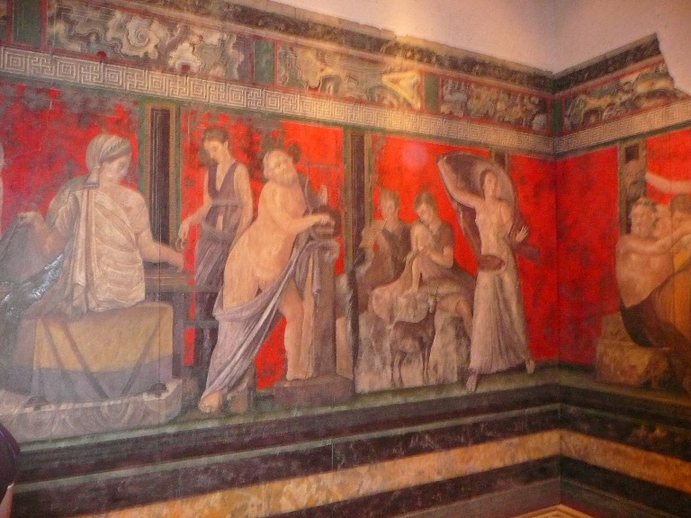Images of ポンペイの壁画の様式...