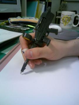 ビームライフルペン
