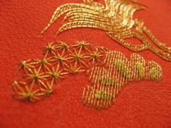 菅繍い、麻の葉