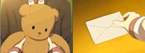 クマさんと、手紙。