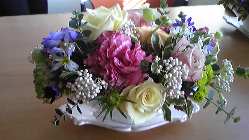 Flower arrangement 20090321