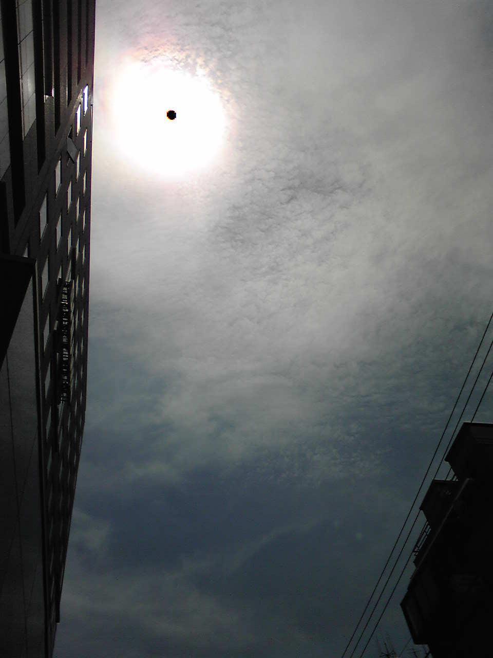 mysterious sun and sky