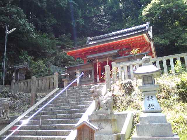 Hondo of Yamashina Shrine