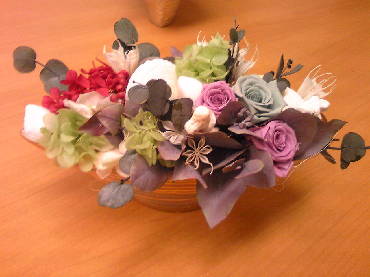 A preserved flower ararnge 1