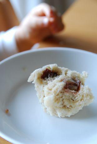 豆乳蒸しパン栗1