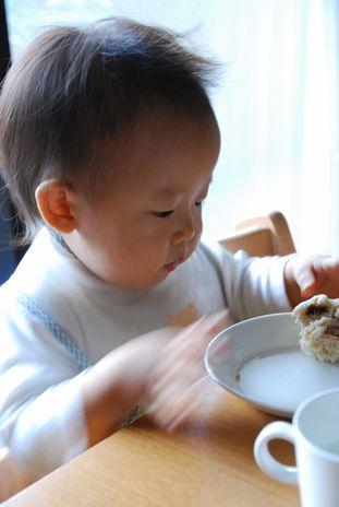 豆乳蒸しパン栗4