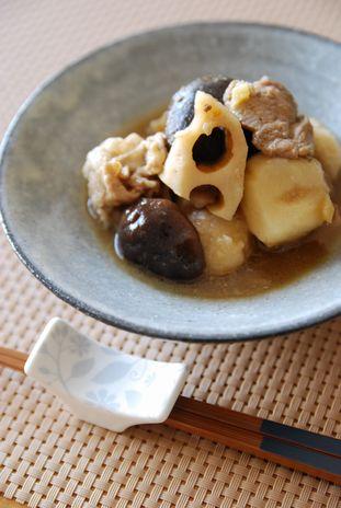 里芋と蓮根の中華煮込み3