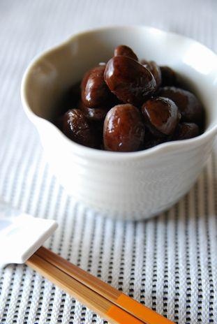 トラ豆の甘煮2