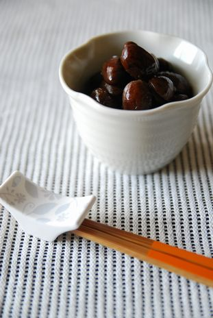 トラ豆の甘煮3