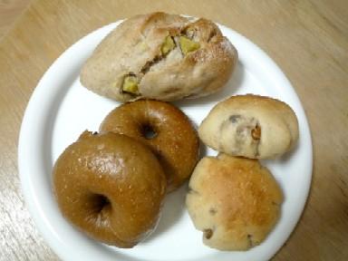 沙良さんに頂いたパン