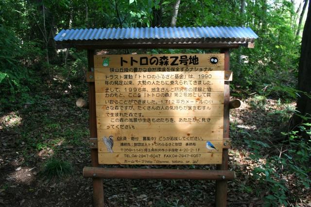 トトロの森2号地(看板)