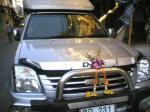 車も中国正月の準備