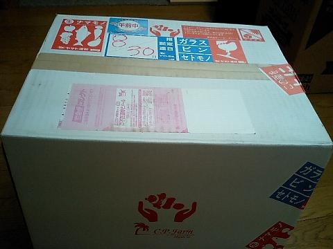 CPFから箱が届いた080830