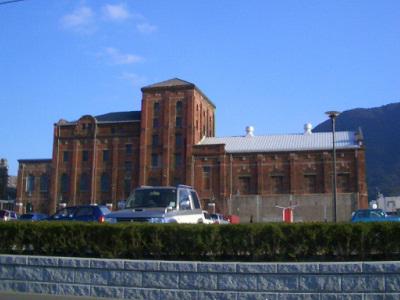煉瓦の建物