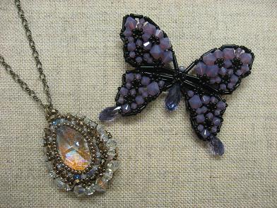 ドロップと蝶々
