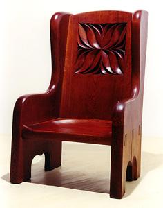 黒澤明邸 王様の椅子