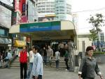 MRT西門駅(ここが玄関口)