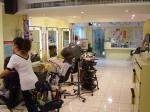 これが一般的な台湾の美容院