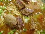 トマト牛肉麺(ドアップ) キモイか??