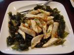 竹の子、高菜、干しエビの炒め物