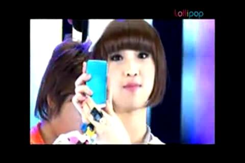 BigBang + 2NE1 - The Making of CYON Lollipop CF MV.mp4_000006079