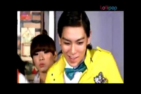BigBang + 2NE1 - The Making of CYON Lollipop CF MV.mp4_000005278