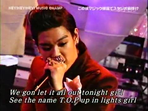 BIGBANG VS ダウンタウン ガラガラGO!.flv_000292675