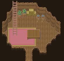 土洞窟+森の家