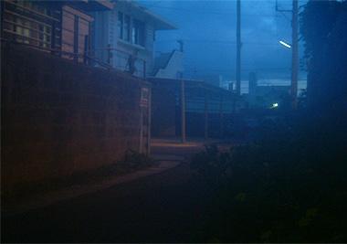 石垣島の民宿にて撮影した画像