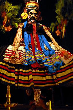 カタカリダンスの画像