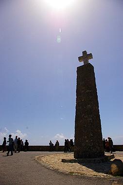 ロカ岬の十字架の画像