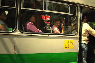 メキシコシティでバスの中から笑いかけてくれたオバチャン