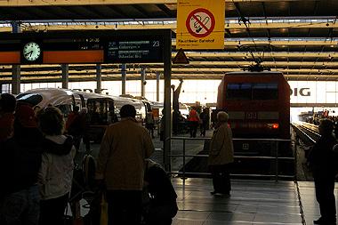 ミュンヘン中央駅の画像
