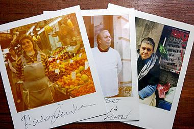 ポラロイドで撮影したポルトガル庶民の画像