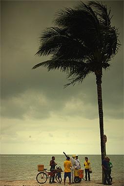 ポルトセグーロの画像。晴れの日が多いとガイドブックに書いてたのに、殆ど雨だった