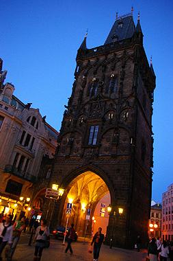 プラハの火薬塔の画像