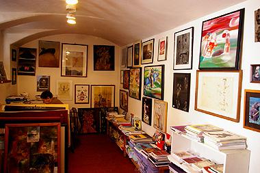 シュヴァンクマイエルのギャラリーの画像。シュルレアリストの作品がたくさんあった!!