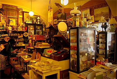 プラハの古道具屋の画像 その2