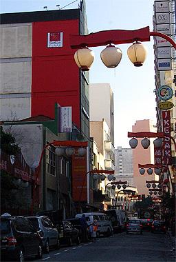 サンパウロはリベルダージ東洋人街の画像