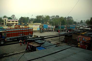 ネパール国境の町、スノウリの画像