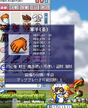 10.24 茶軍手UG6