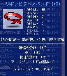 10.31 HP160ピグバンド