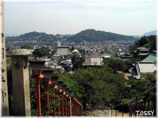 西国寺からの眺め