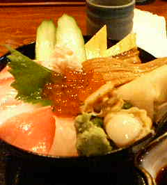 弥生海鮮丼