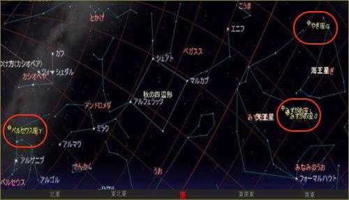 2005 7 29 みずがめ座星図