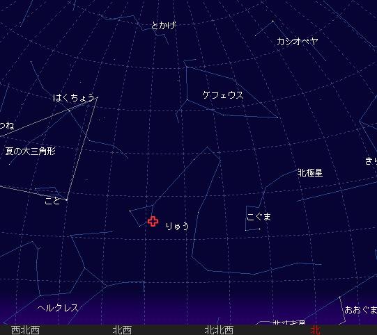 2006 10 8 りゅう座γ流星群