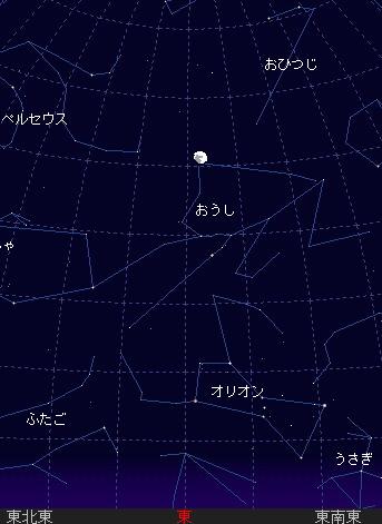 2006 12 31 スバル食と行く年来る年星図2