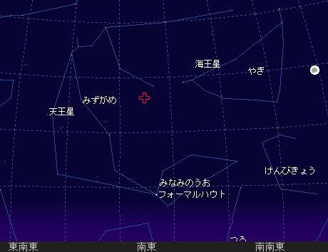 2007 7 29_30 みずがめ座δ流星群 星図
