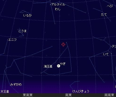 2007 7 29_30 やぎ座流星群 星図