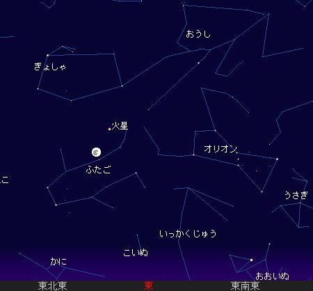 2007 12 24 クリスマスイブに、逢いましょう星図